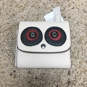 NWT Coach Trifold wallet